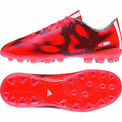 adidas Bota Jr F10 TRX AG Solar red-White-Black Rojo