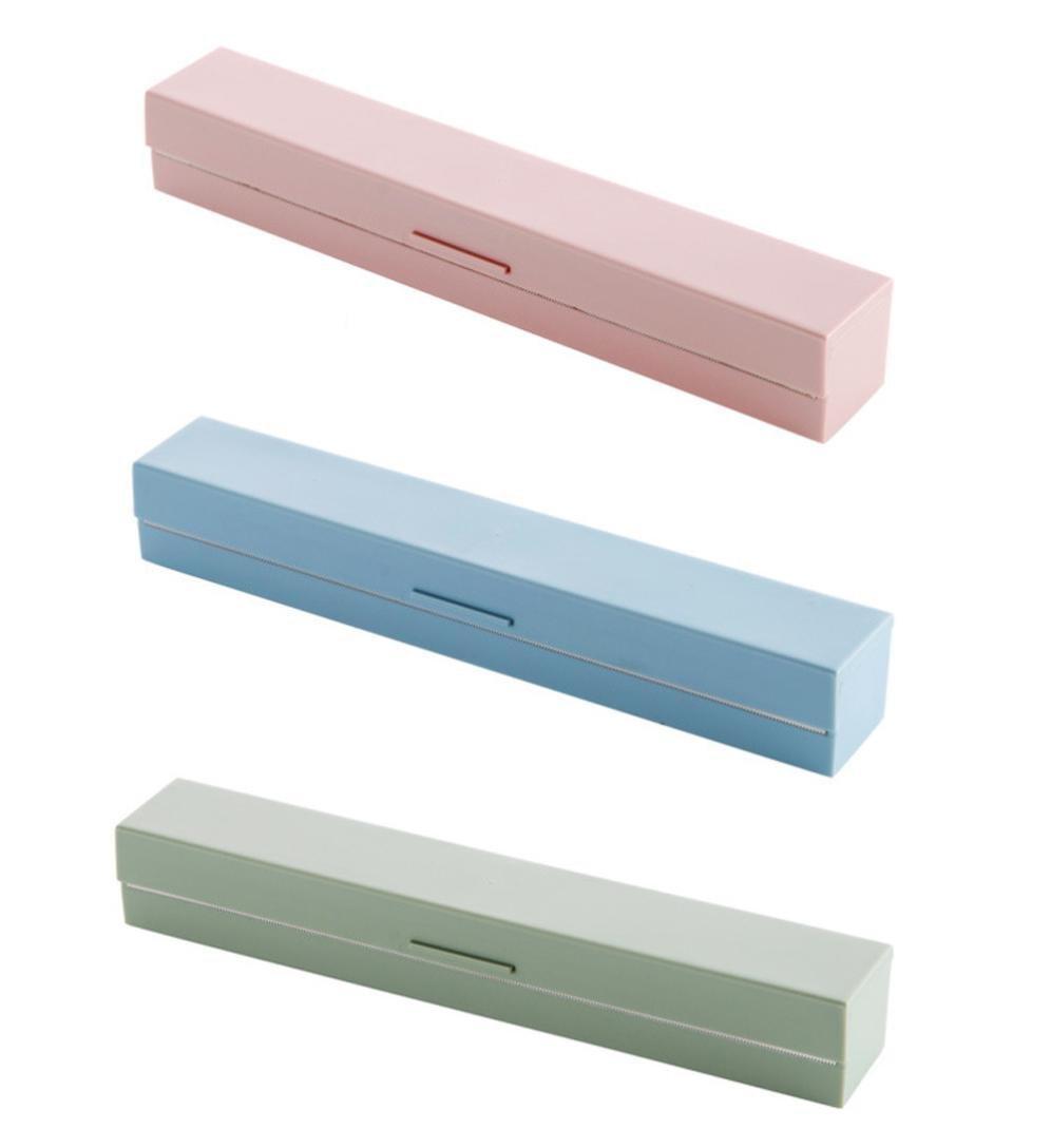 hunpta Vogue plástico cortador de papel de cocina y dispensador de film transparente de almacenamiento 3 Color: Amazon.es: Hogar