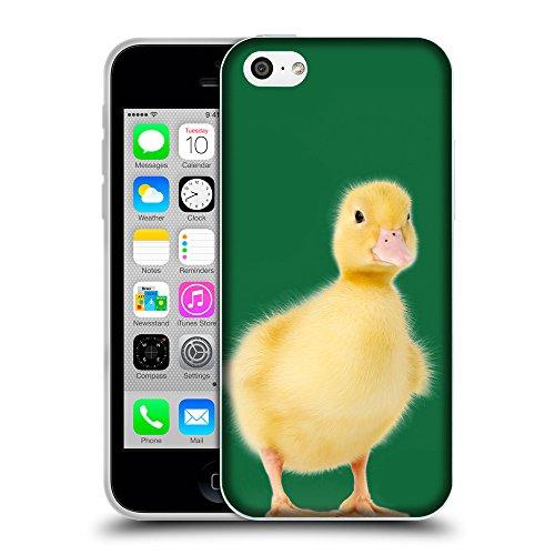 GoGoMobile Coque de Protection TPU Silicone Case pour // Q05780622 Canetons Il cadmio verde // Apple iPhone 5C
