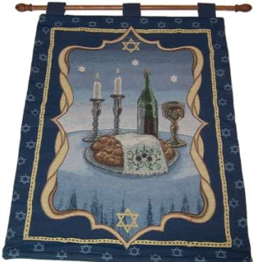 Judaica Collection Shabbat Table Hanging