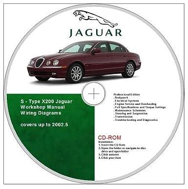 Jaguar S-Type (1999 - 2002.5) Workshop Repair Manual: Amazon ... on