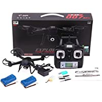 Lookatool® 2.4G 4CH 6 Axis RC Quadcopter Drone With 2MP HD Camera RTF + 2PC Battery