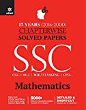Chapterwise Solved Papers SSC Staff Selection Commission Mathematics