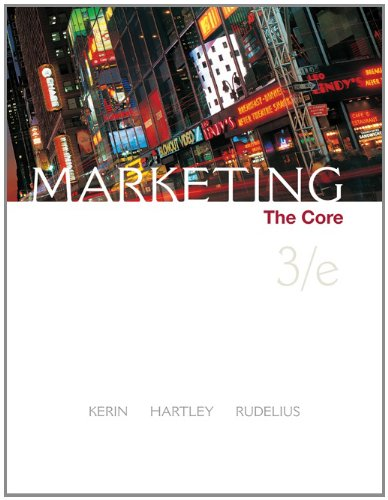 Marketing: The Core