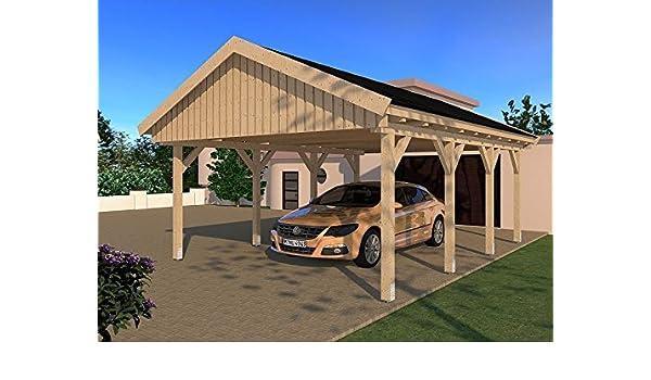 CarPort tejado Le Mans V 500 cm x 600 cm Kvh montar construcción ...