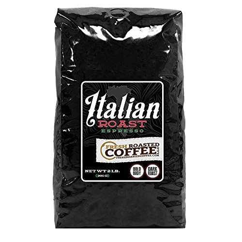 Italian Roast Espresso Coffee, Whole Bean, Fresh Roasted Coffee LLC (2 lb.)