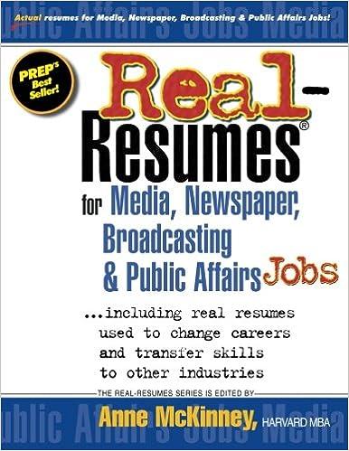 Affair broadcasting job media newspaper public real resume essay writting jobs