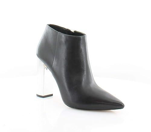 MICHAEL by Michael Kors Zapatos Paloma Botines de Cuero Negro Mujer: Amazon.es: Zapatos y complementos