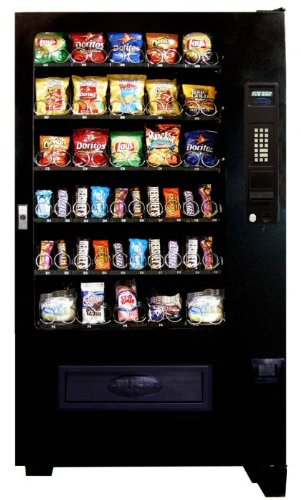 Seaga Vending Machines (Seaga Vc5000 Five-wide 40 Select Ambient Snack Vending Machine,)