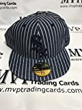New Era CHICAGO WHITE SOX Pinstripes Fitted Baseball Cap Size 7 3/4
