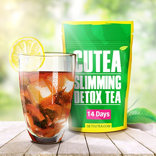 photo Wallpaper of Cutea-CUTEA Natural Weight Loss Detox Tea, 14 Tea Bags: Reduce-