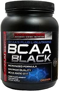 BCAA BLACK ORANGE 500 GRS (BCAA+GLUTAMINA): Amazon.es: Salud ...