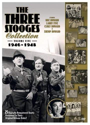 The Three Stooges Collection, Vol. 5: -