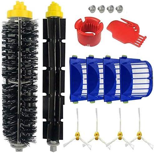 Supon robot accesorio cepillos de repuesto para robot serie 600 accesorios de repuesto, filtros, cepillo de cerdas para robot aspirador: Amazon.es: Hogar
