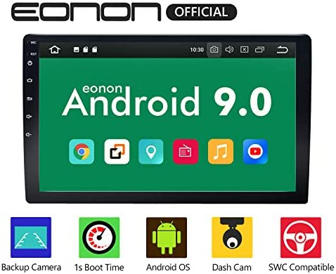 Eonon Car Stereo,Double Din Car Stereo, Car Radio 10.1 Inch GPS Navigation for Car,Support Android Auto and Carplay Head Unit Support WiFi Fast Boot DVR Backup Camera OBDII- NO DVD CD -GA2178