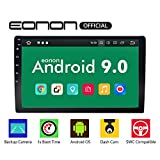 Eonon Double Din Car Stereo with Bluetooth 5.0, Android 9.0 Car Android Auto Radio 10.1 Inch Head Unit,Support Backup Rear View Camera Steering Wheel Remote Control Mirror Link WiFi Connection-GA2178