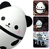 Slow Rising Squishies Panda,14CM Squishies Jumbo Slow Rising Scented Kawaii Squishy Stress Relief Decompression Soft Panda Egg Animal White 1PCS