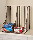 Double Pantry Bronze Can Organizer