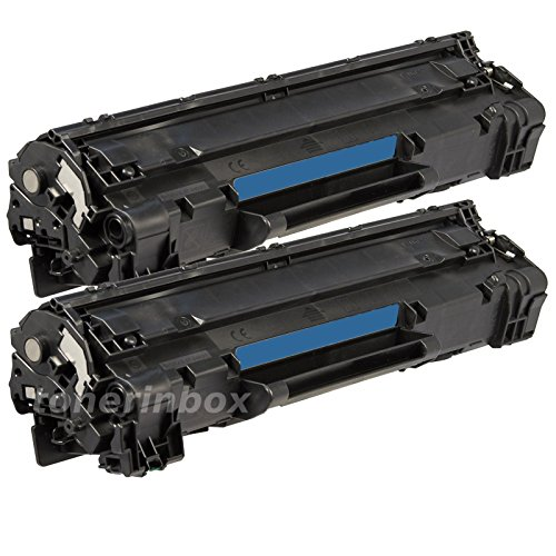 2 Pack CE285A Toner For HP 85A Laserjet Pro P1102 P1102W M1132 M1212nf M1217nfw