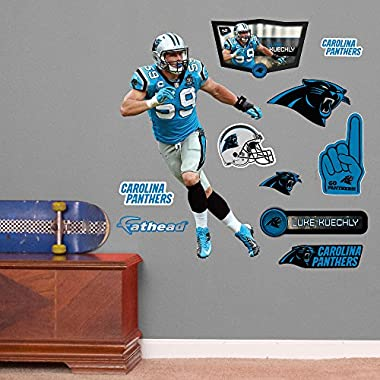 NFL Carolina Panthers Luke Kuechly Junior Wall Decal