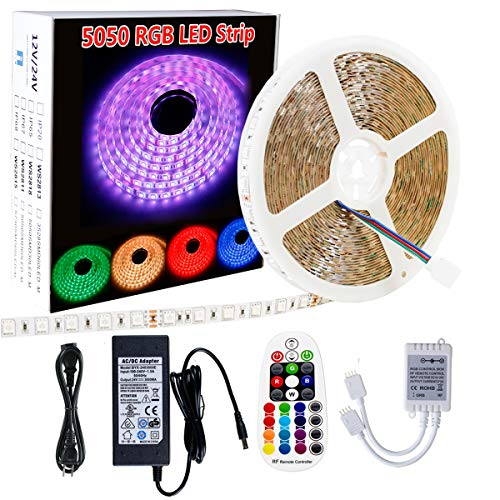 360 Multi Coloured Led Christmas Lights in US - 6