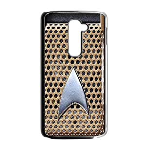 Star Trek Communicator ~ Personalized Custom Beauty Diy Smooth Surface Durable Tpu Rubber Silicone Case Cover Skin Unique,TPU Phone case for LG G2,black