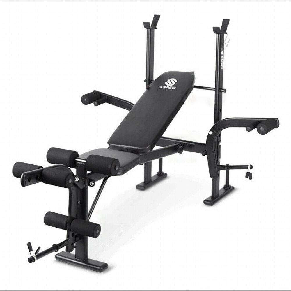 KirinSport - Banco de pesas, plegable, banco de entrenamiento, multigimnasio, deportivo, banco de empuje, para equipamiento de entrenamiento, ...