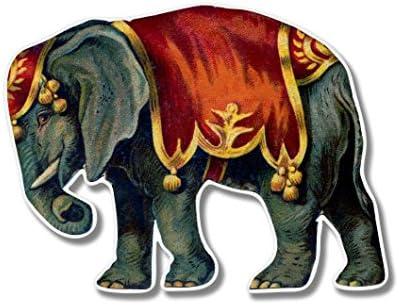 "Elephant With Baby Decal Sticker JDM Funny Vinyl  Car Window Bumper Laptop 12/"""