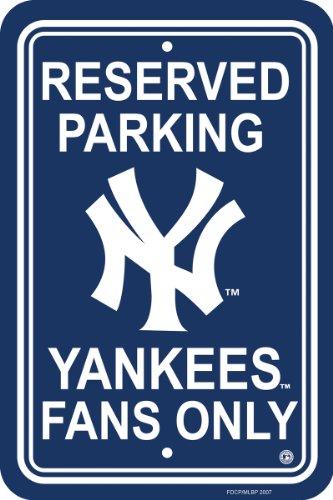 - MLB New York Yankees Plastic Parking Sign