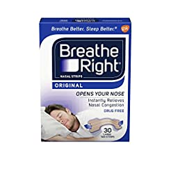 Breathe Right Original Nose Strips to Re...