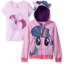 My Little Pony Big Girls' Twilight Sparkle Hoodie