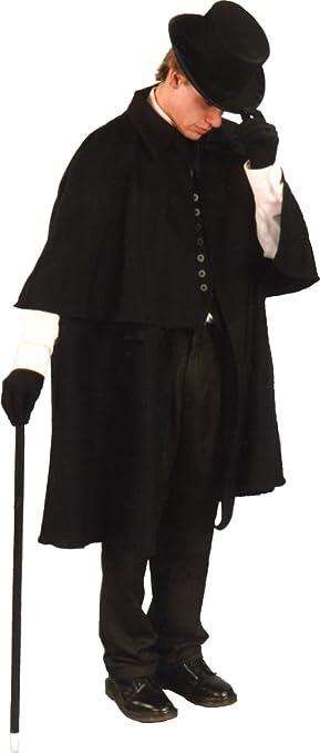Men's Steampunk Clothing, Costumes, Fashion Alexanders Costumes Mens Victorian Coat $45.95 AT vintagedancer.com
