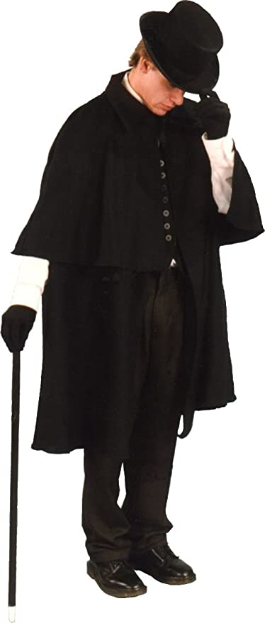 Men's Steampunk Clothing, Costumes, Fashion Alexanders Costumes Mens Victorian Coat $48.95 AT vintagedancer.com