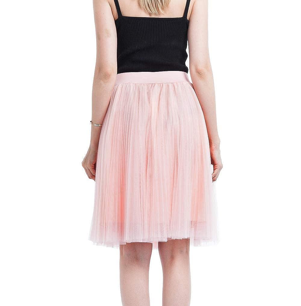 Vectry Faldas Anaranjado Falda Desigual Faldas Mujer Cortas Faldas Tul Mujer Falda Vaquera Faldas Tutu Nina Falda Larga Mujer Faldas Cortas con Vuelo: ...