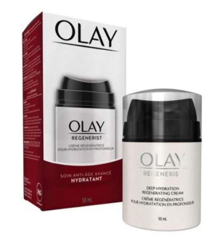 OLAY Regenerist Advanced Anti-Aging Deep Hydration Regenerating Cream 1.70 oz (Pack of 2)
