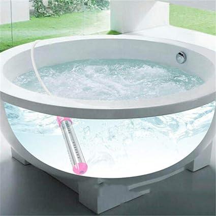 Elektro-Durchlauferhitzer mit 2500 W elektrischer Durchlauferhitzer tragbar zum Aufw/ärmen von Wasser f/ür Badewanne