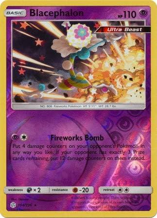 104//236 Pokemon Card Cosmic Eclipse Excellent Blacephalon Reverse