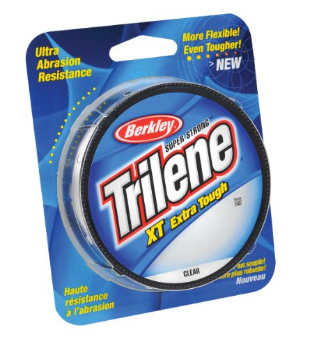 Berkley Trilene XT Filler 0.012-Inch Diameter Fishing Line, 8-Pound Test, 330-Yard Spool, Clear