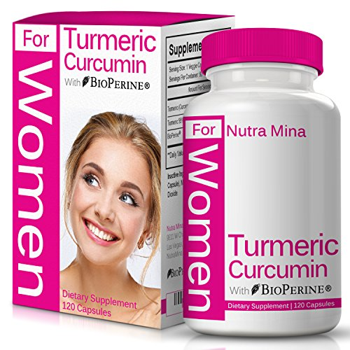 FLASH SALE -Turmeric Curcumin with Bioperine, Premium Joint Support for WOMEN, Best Absorption and Bioavailability with 95% Standardized Curcuminoids and Black Pepper, Made In USA, 120 Veggie Capsules Review