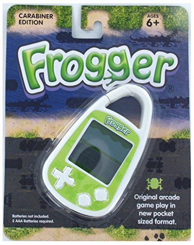 FROGGER Handheld Electronic GAME Arcade Konami Frog Lily Travel Carabiner (Frogger Arcade Game)