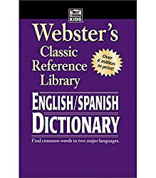 Image of the product Websters English Spanish that is listed on the catalogue brand of American Education Publis.