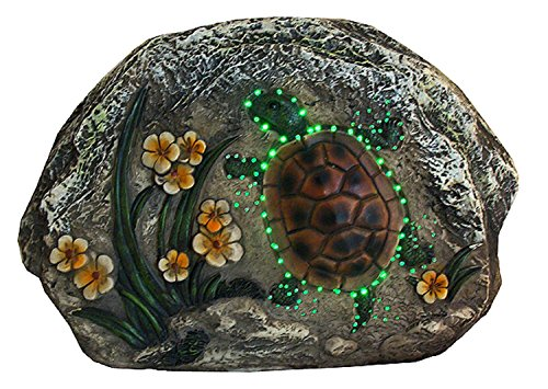 Outdoor Lighted Turtles - 5