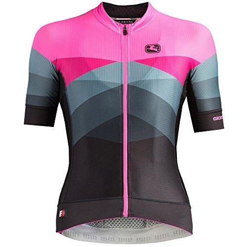 Giordana Moda FR-C Pro Short-Sleeve Jersey - Women's Dolomiti/Pink, S