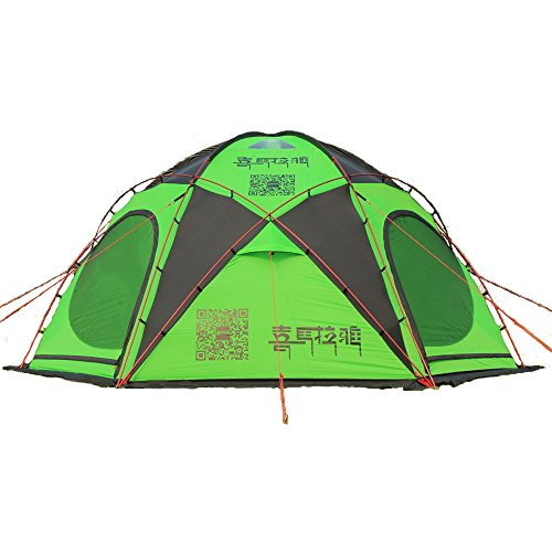 HIMALAYA Camping Family Tent Multiplayer Aluminum Pole Waterproof Ripstop Outdoor Traveling by car for Camping & Hiking…