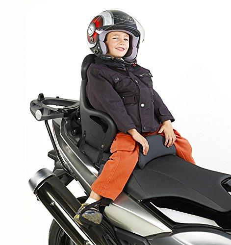 Motos niñ o asiento Kymco Xciting 400 i Givi S650 negro