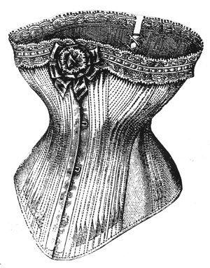 1877 White Jean Corset Pattern - 20