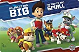 Zak! Designs Placemat with Paw Patrol Graphics, BPA-free Plastic