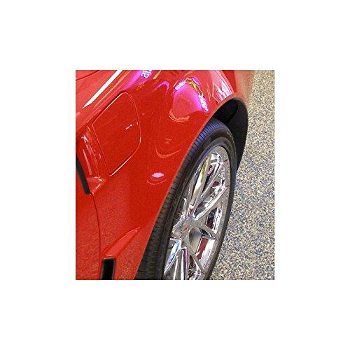 Eckler's Premier Quality Products 25247482 Corvette Paint Protectors Rear Quarter Panel Flare Z06/ZR1/Grand Sport Cleartastic Invisible