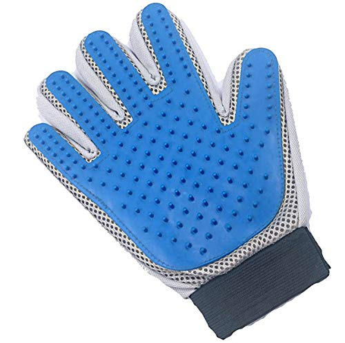 Penline - Pet Grooming Glove for Long & Short Hair - Pet Hair Glove - Cat & Dog Shedding Brush Glove - Deshedding Glove Brush - Petting Glove for Dogs & Cats !
