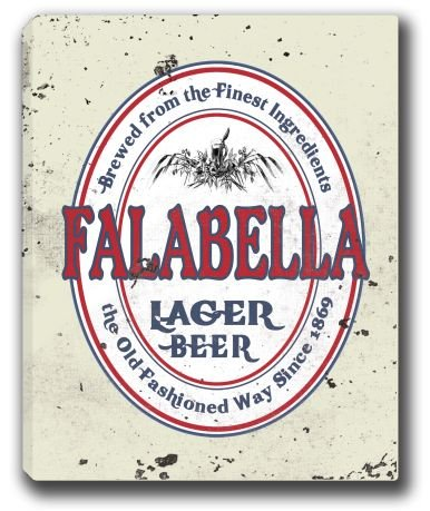 falabella-lager-beer-stretched-canvas-sign-16-x-20